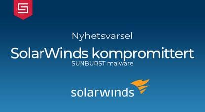 SolarWinds kompromittert