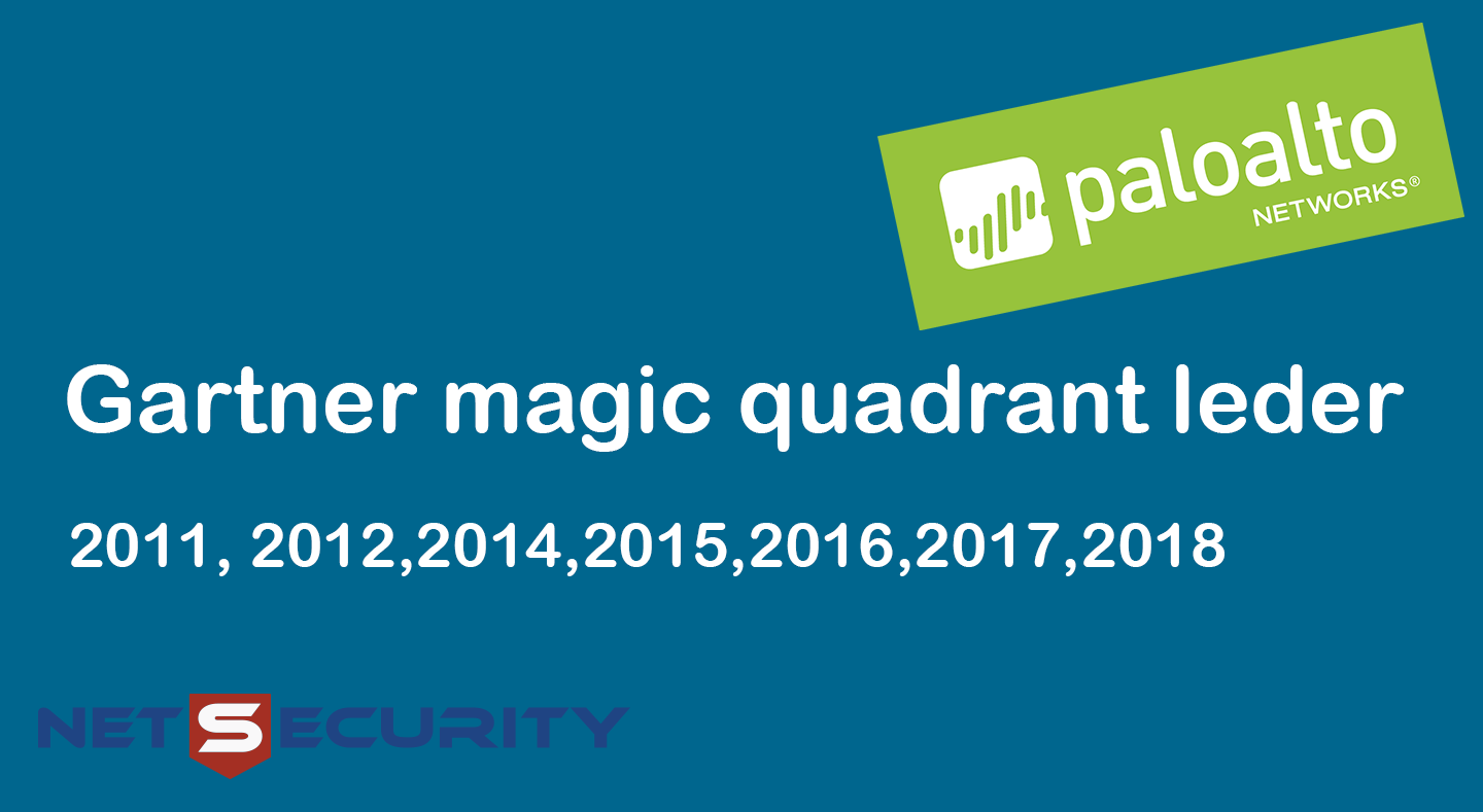 Palo Alto Networks - leder av Gartner magic quadrant syv år på rad!