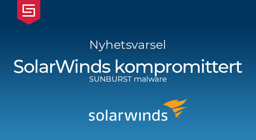 SolarWinds kompromittert
